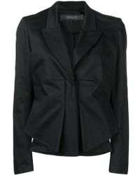 FEDERICA TOSI - Gathered Detail Fitted Jacket - Lyst