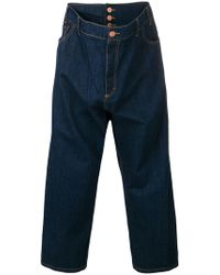 Vivienne Westwood Anglomania - Cropped Loose-fit Jeans - Lyst