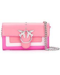 Pinko Coral Pink Shoulder Bag