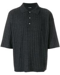 Raf Simons - Oversized Polo Shirt - Lyst