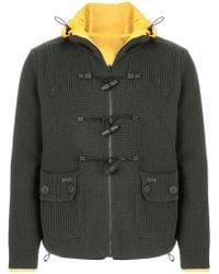 Bark - Drawstring Neck Reversible Jacket - Lyst