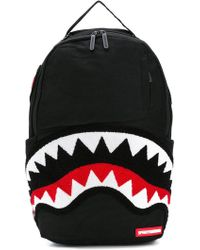 Sprayground - Ghost Chenille Shark Backpack - Lyst