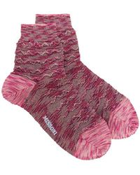 M Missoni - Textured Knit Socks - Lyst