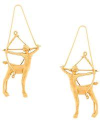 Givenchy - Sagittarius Zodiac Earrings - Lyst