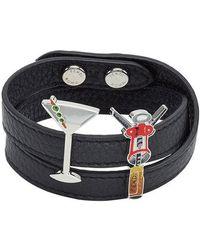 Fendi - Double Wrap Cocktail Bracelet - Lyst