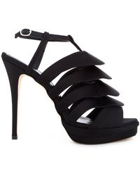 Jerome C. Rousseau - 'quorra' Satin Evening Sandals - Lyst