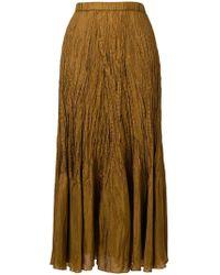 Mes Demoiselles - Crinkled Texture Skirt - Lyst
