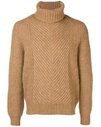 Woolrich - Turtleneck Ribbed Jumper - Lyst