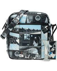 Prada - Printed Messenger Bag - Lyst