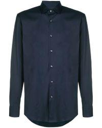 BOSS - Plain Shirt - Lyst