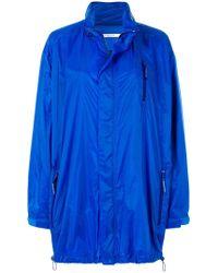 Givenchy - Long Line Oversized Coat - Lyst