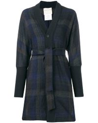 Stephan Schneider - Check Buttoned Cardigan - Lyst