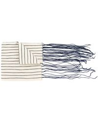 Toogood - Tasselled Striped Scarf - Lyst