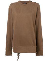 Ann Demeulemeester - Oversized Sweatshirt - Lyst