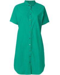 Closed - Short Sleeve Shirt Dress - Lyst