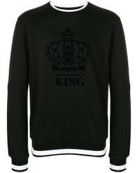 Dolce & Gabbana - Sweatshirt mit Logo - Lyst