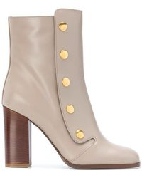 Mulberry - Snap Button Ankle Boots - Lyst