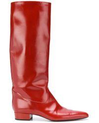 Nina Ricci - Tall Pointed Boots - Lyst