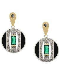 V Jewellery   Daphne Earrings   Lyst