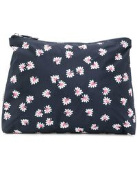 Ganni - Foliage Print Makeup Bag - Lyst