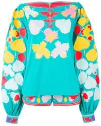 Yuliya Magdych - Embroidered Co-ord Set - Lyst