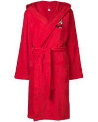 Moschino - Teddy Underbear Bathrobe - Lyst 0ac997485