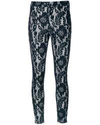 Just Cavalli - Macramé Lace Trousers - Lyst