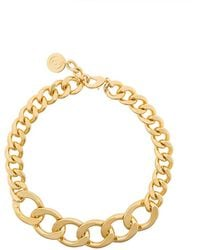 MM6 by Maison Martin Margiela - Chainlink Necklace - Lyst
