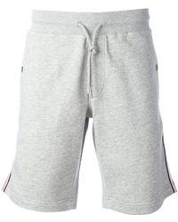 Moncler - Signature Trim Shorts - Lyst
