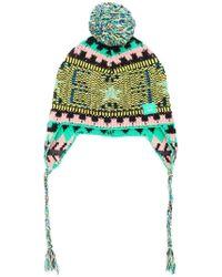 Acne Studios - Knit Ear Flap Hat - Lyst