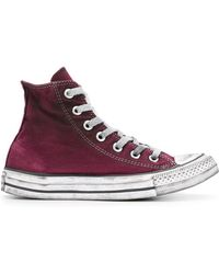 Converse - Classic Chuck Taylor All Star Hi-top Trainers - Lyst