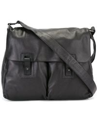 Orciani - Pocket Detail Messenger Bag - Lyst
