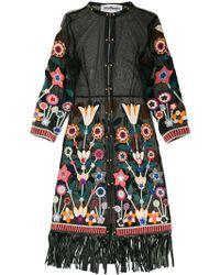 Caban Romantic - St Tropez Semi-sheer Floral Kimono - Lyst