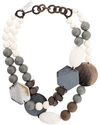 Weekend by Maxmara - Beaded Necklace - Lyst