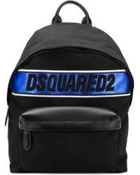 DSquared² - Sac à dos à logo métallisé - Lyst