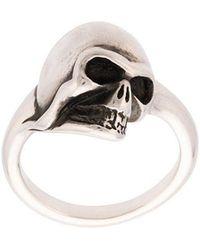 Werkstatt:münchen - Skull Ring - Lyst