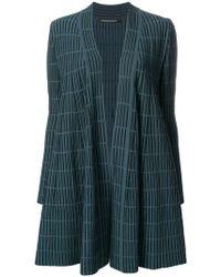 Antonino Valenti - Striped Loose Crude-coat - Lyst