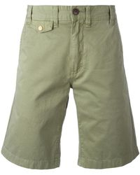 Barbour - Neuston Twill Shorts - Lyst