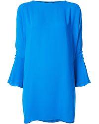 Jay Godfrey - Vachon Slit Sleeve Dress - Lyst