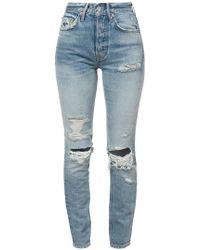 GRLFRND - Distressed Jeans - Lyst