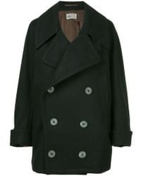Kolor - Double Breasted Coat - Lyst