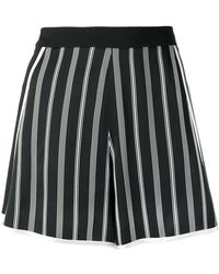 Lanvin - Striped Shorts - Lyst