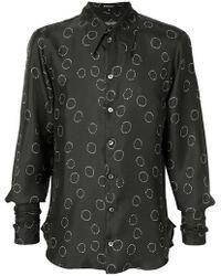 Ann Demeulemeester - Printed Shirt - Lyst