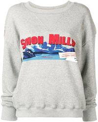 Simon Miller - Mountain Print Sweatshirt - Lyst
