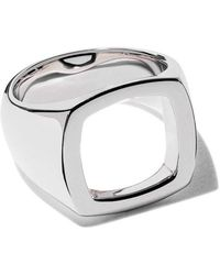 Tom Wood - Ring mit rechteckigem Design - Lyst