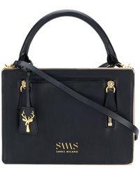 SAVAS - Evelina Quitled Box Bag - Lyst