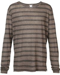 Massimo Alba - Striped T-shirt - Lyst