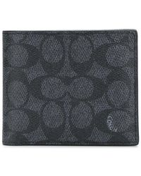 COACH - Compact Id Wallet - Lyst