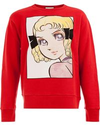 Gucci - Anime Print Jumper - Lyst