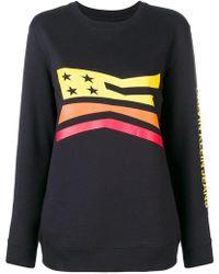 Calvin Klein - Flag Print Sweatshirt - Lyst